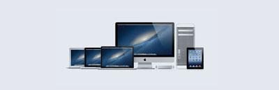 Kompletter Support für Apple Hard- und Software